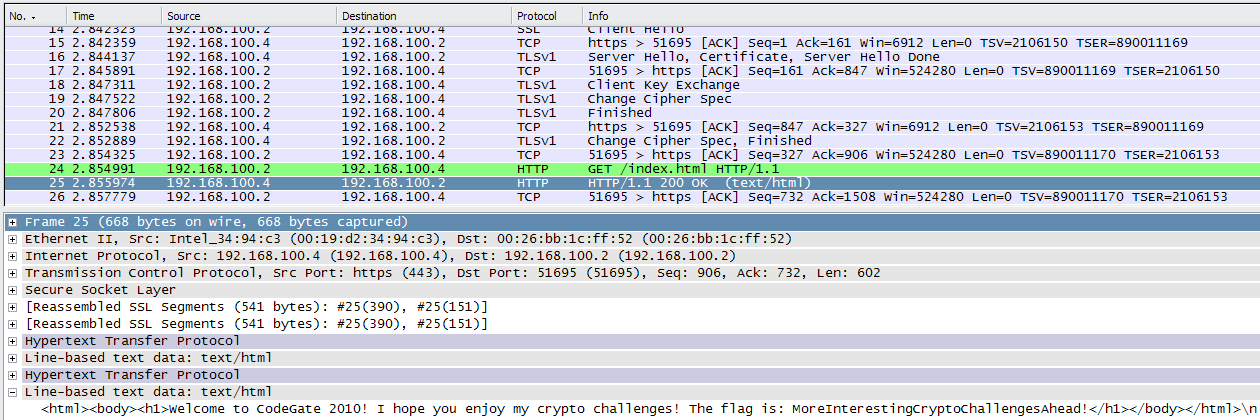 Stalkrs Blog Write Up Codegate 2010 7 Decrypting Https Ssl